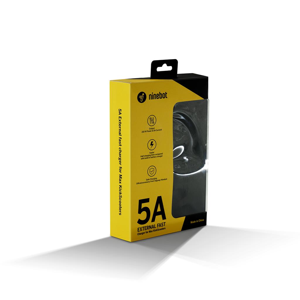Lynoplader til Ninebot KickScooter MAX G30D