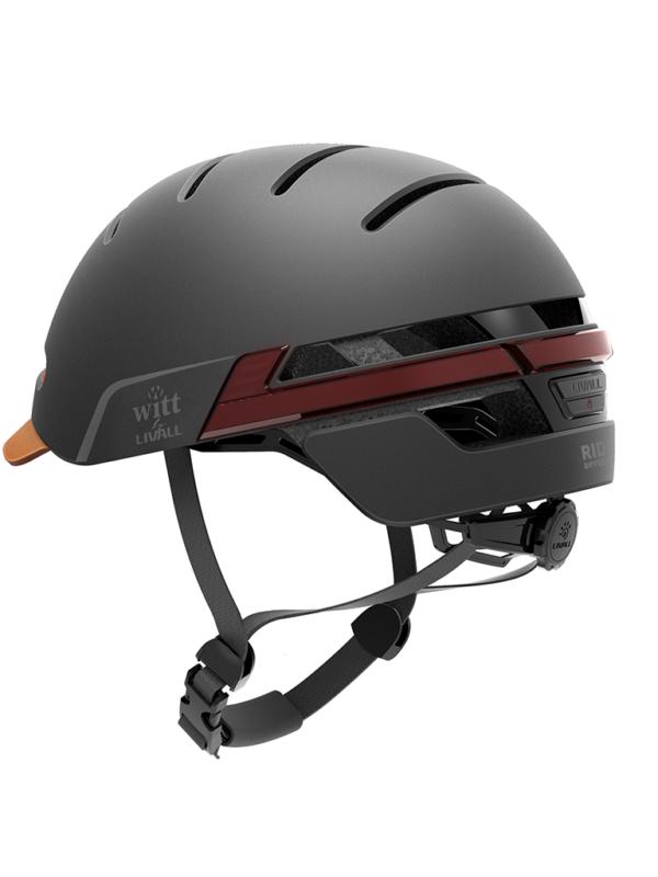 Smart Helmet - kan købes sammen med el løbehjul hos Youride